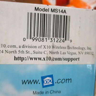 Lot 12 - X10 Eagle Eye Motion Sensor Indoor/Outdoor MS14A