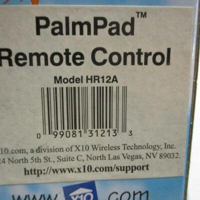 Lot 19 - X10 Palm Pad Remote Control - 2 Pin Polarized Appliance Module - Door Window Sensor