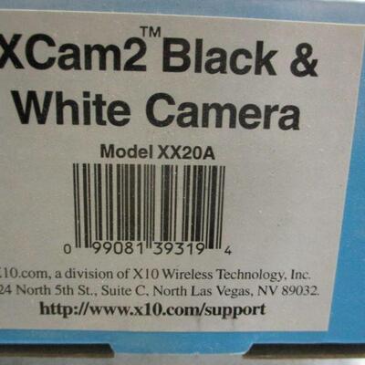 Lot 20 - Set of 2 - X-10 XCam2 Black & White Camera XX20A