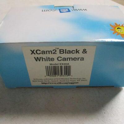 Lot 22 - Set Of 2 - X-10, XCam2 Black & White Cameras, XX20A