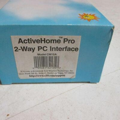Lot 26 - X10 Active Home Pro 2-Way PC Interface