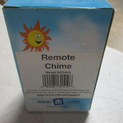 Lot 28 - Lot Of 3 - X10 Remote Chimes