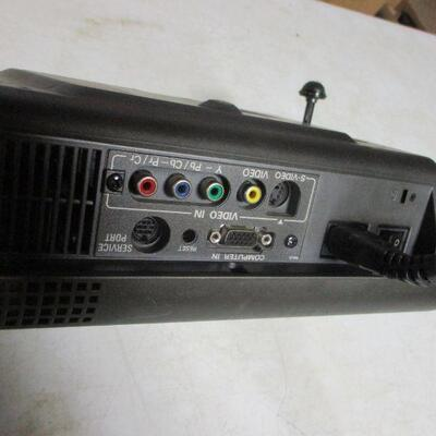 Lot 29 - Sanyo Home Theater Projector PLV-Z1