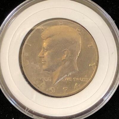 Lot 3 - 1974 Kennedy Half Dollar