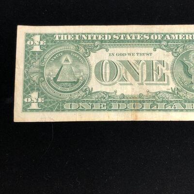 Lot 6 - 1957 Blue Seal Silver Certificate