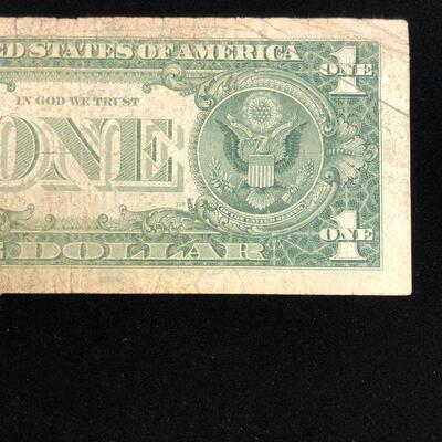 Lot 7 - 1957 Blue Seal Silver Certificate