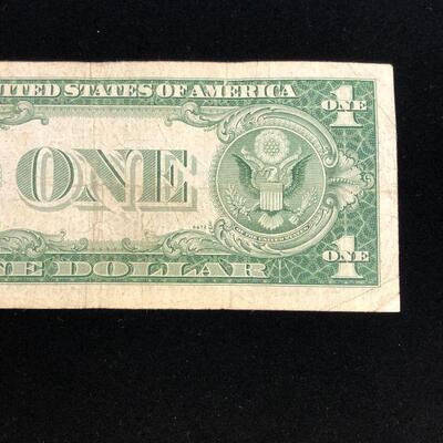 Lot 8 - 1935 E Blue Seal Silver Certificate