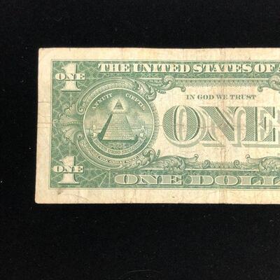 Lot 9 - 1957 A Blue Seal Silver Certificate
