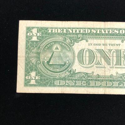 Lot 10 - 1957 A Blue Seal Silver Certificate