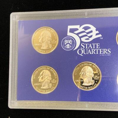 Lot 16 - 2007 S State Quarters Proof Set
