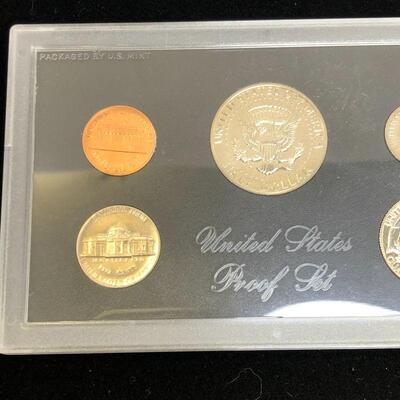 Lot 21 - 1971 S Coin Proof Set