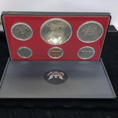 Lot 22 - 1973 S Coin Proof Set