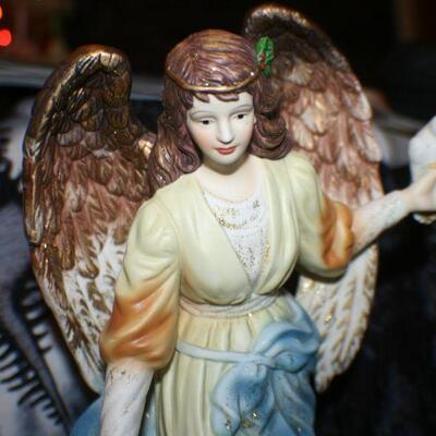 Ceramic Angel with Doves