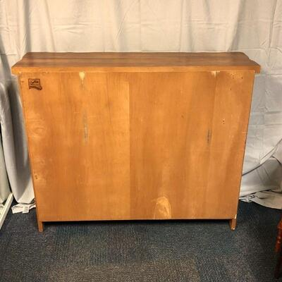 Lot 8 - Lortz Mfg. Solid Wood Bookcase LOCAL PICKUP ONLY