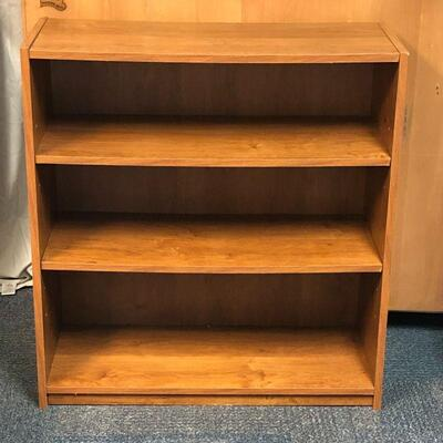 Lot 9 - Composite Wood Bookcase LOCAL PICKUP ONLY