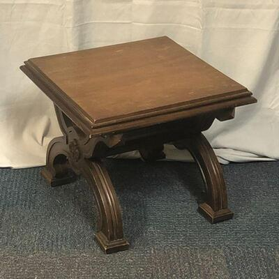 Lot 11 - Solid Wood Side Table LOCAL PICK UP ONLU