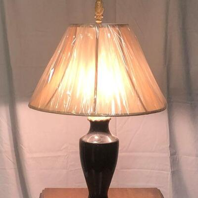 Lot 12 - Vintage Two Bulb Lamp LOCAL PICK UP ONLY