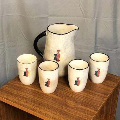 Lot 50 - Royal Sealy Japan Pitcher and 4 Cups
