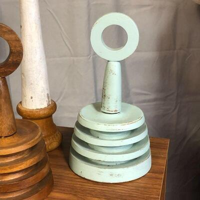 Lot 54 - Wood Thingies