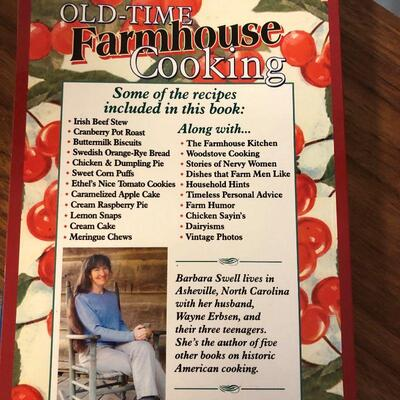 Lot 56 - 4 Cookbooks Author is from Asheville, NC