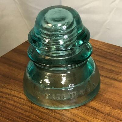 Lot 58 - Whitall Tatum Co No. 1 Glass Insulator