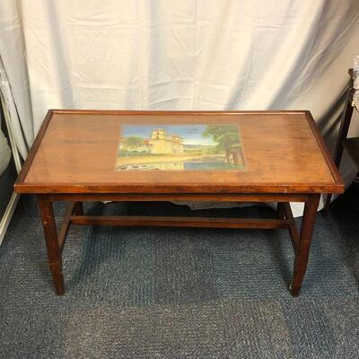Lot 61 - Solid Wood Coffee Table LOCAL PICKUP ONLY