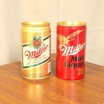Lot 62 - Vintage Beer Can Banks
