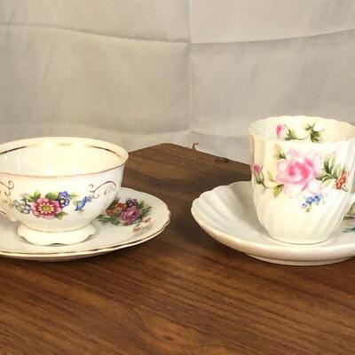 Lot 63 - Occupied Japan Tea Cups