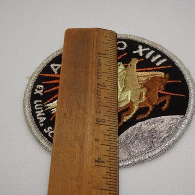 Vintage Apollo XIII Luna Scientia Patch