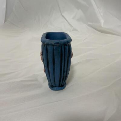.1. WELLER | Blue Drapery Vase
