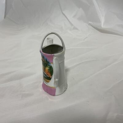 .12. JonRoth Studios | Hand Painted | Green Bay Souvenir Pitcher