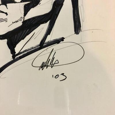 Batman - Original Drawing - Signed Pete Woods