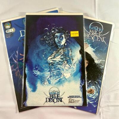 Aspen Comics -Michael Turner's Fathom - Blue Descent