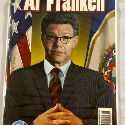BlueWater Comics - Political Power: Al Franken