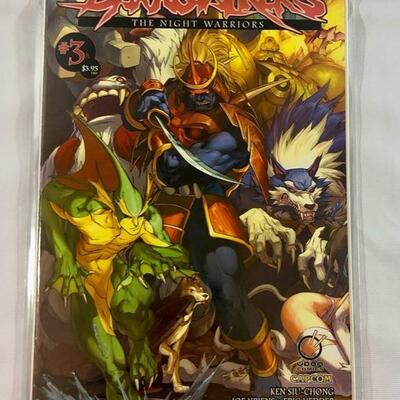 CapCom - Udon Comics - Darkstalkers