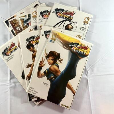 CapCom - Udon Comics - Street Fighter Legends