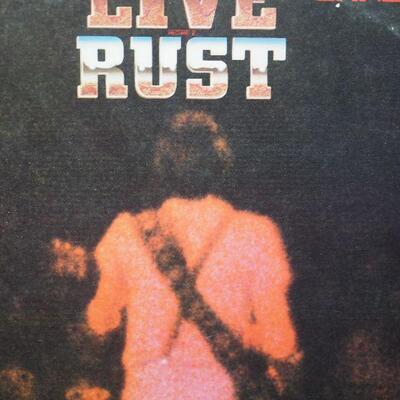 Lot 2,  Vintage  MC Calls 1960s, Magazines, 1 double Neil Young Live Rust record  Books