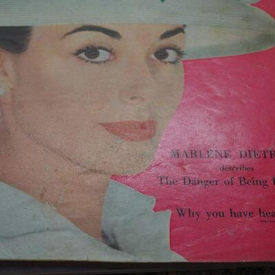 Lot 3 Vintage magaines 1950s-1960s