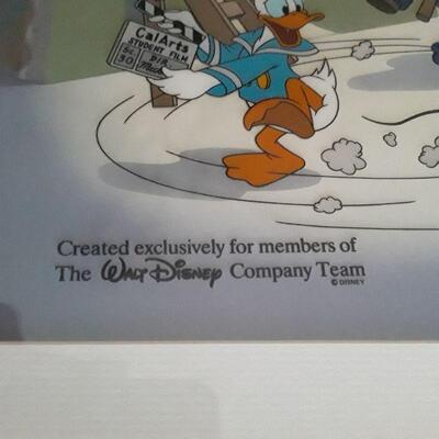 Walt Disney Cal-Arts Team Serigraph