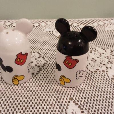 Salt and Pepper Mickey Ears
