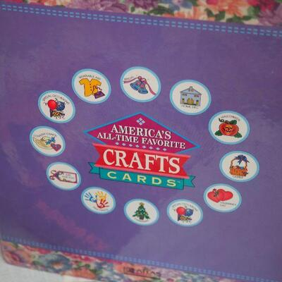 Lot 5 Knitting crafts patterns Silk Ribbon Embroidery, Vintage Disney post cards tickets