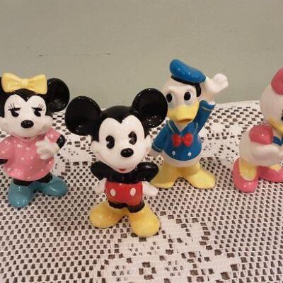 Lot Four Disney Figures
