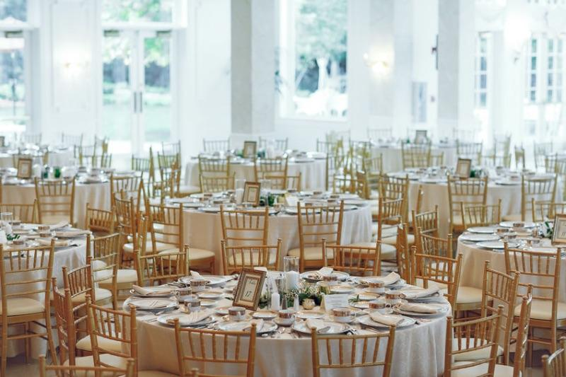Linens, Banquet Tables & Chairs, Dish-ware, Flatware, Glassware, Small-wares