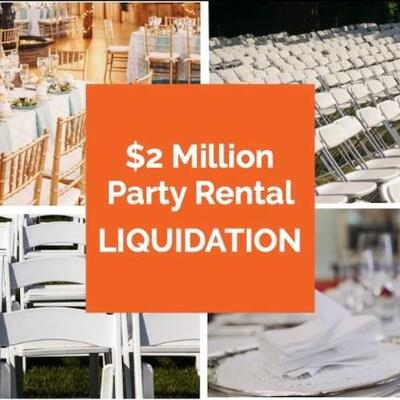 High End Party and Event Rental Assets