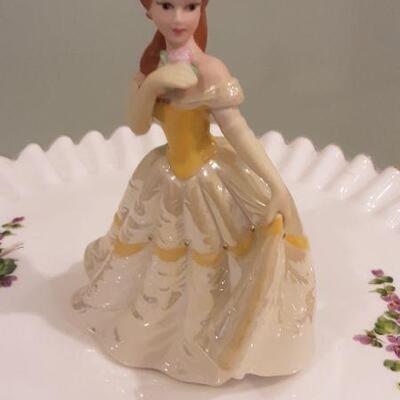 Lot Four Disney Princess Figurines