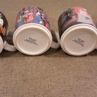 Lot 4 Disney Coffee Mugs