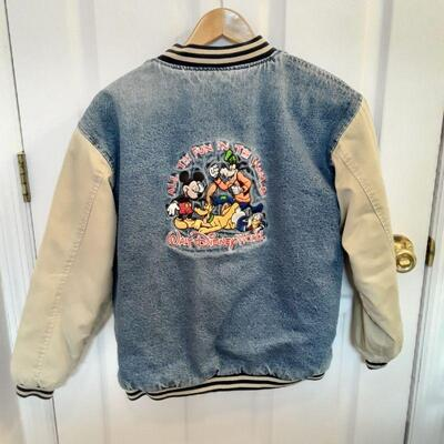 1990's Walt Disney World Kids Bomber Jacket