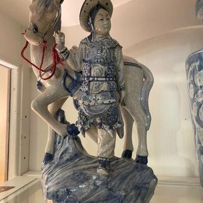 Vintage Oriental Bombay Chinese figurine 1940's 1st figurine