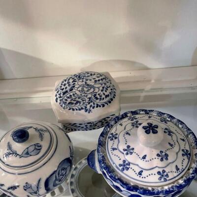 Vintage Blue & White Items