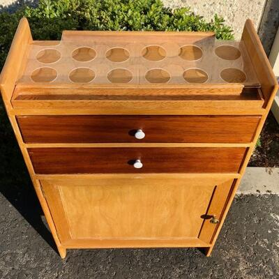 Mixed Finish Wood Mini-bar or dental cabinet YD#020-1220-00009